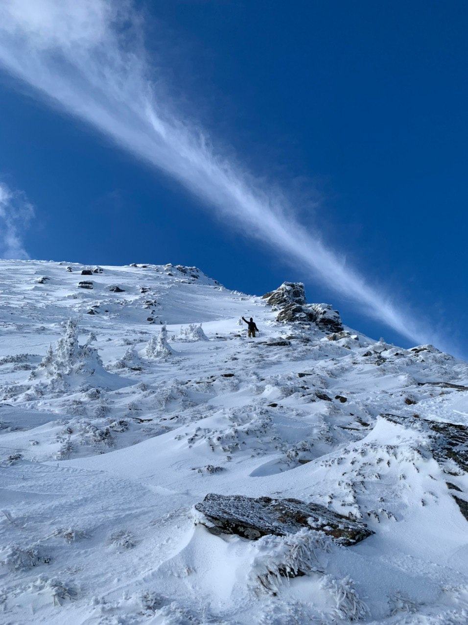 Сходження на Петрос (2020 м). Зима. Похід вихідного дня.